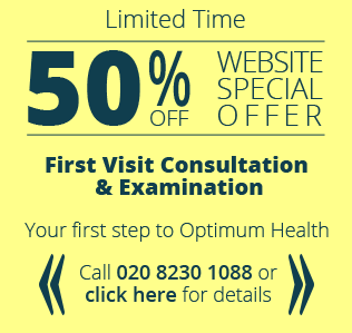 50 percent website special offer at Hounslow Family Chiropractic Clinic