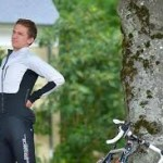 Cycling is great exercise but take care of your back